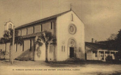St. Patrick's Catholic Church - Apalachicola, Florida FL Postcard