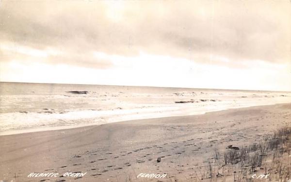 Atlantic Ocean Atlanic Ocean, Florida Postcard