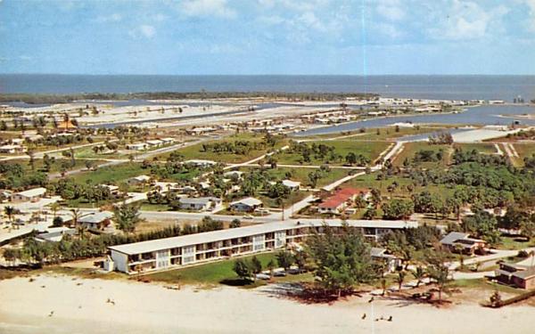 Blue Water Beach Apartments Anna Maria Island, Florida Postcard