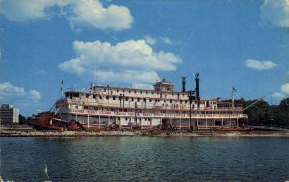River Queen - Bradenton, Florida FL Postcard