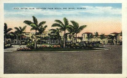 Boca Raton Club - Miami, Florida FL Postcard