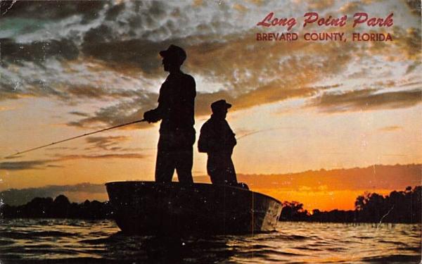 Long Point Park Brevard County, Florida Postcard