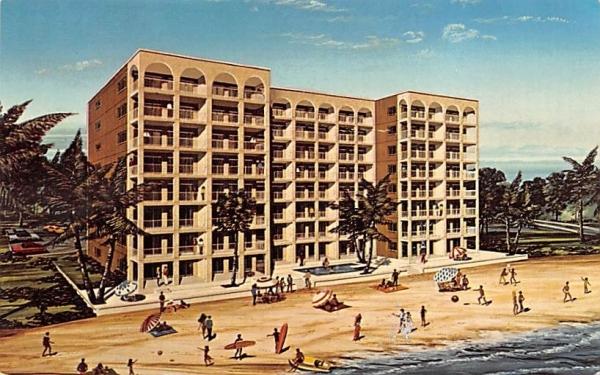 Casa Bonita, Condominium Apartments Bonita Beach, Florida Postcard