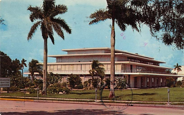 Municipal Auditorium Bradenton, Florida Postcard