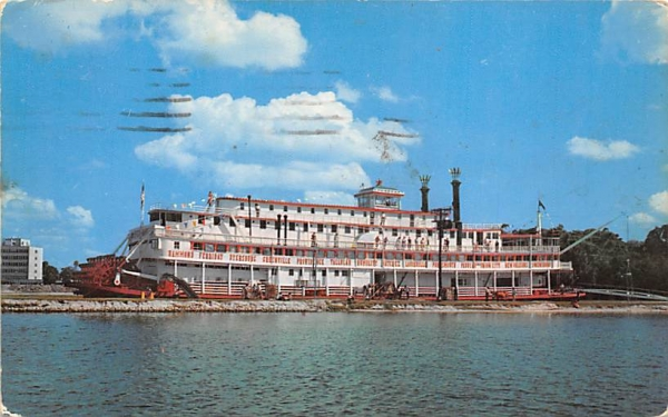 River Queen Bradenton , Florida Postcard