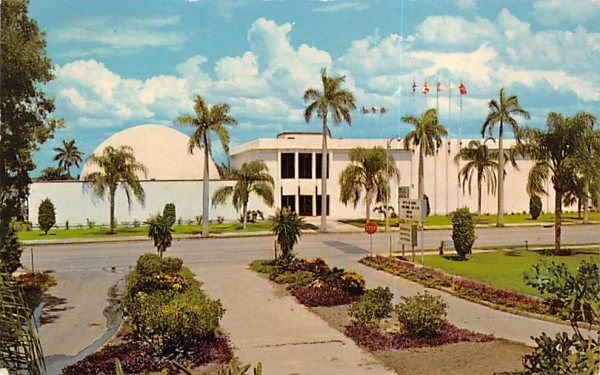 Bishop Space Transit Planetarium, South Florida Museum Postcard