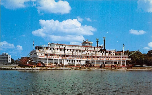 River Queen Bradenton, Florida Postcard