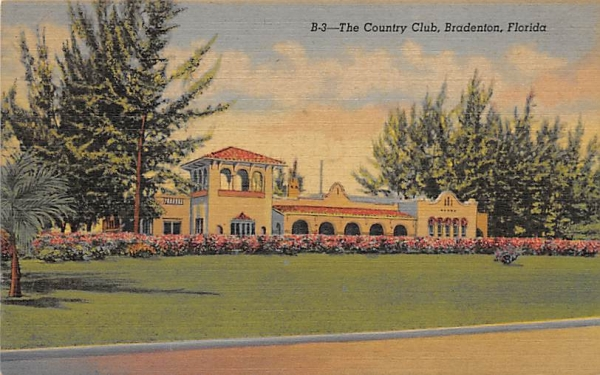 The Country Club Bradenton, Florida Postcard