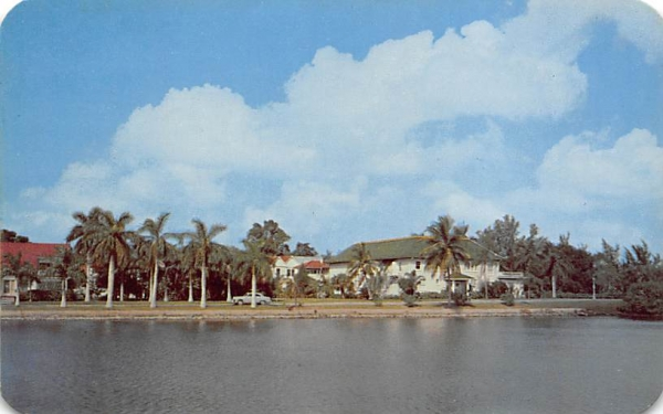Bradenton Woman's Club Florida Postcard