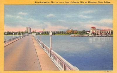 Bradenton, FL, USA Florida Postcard