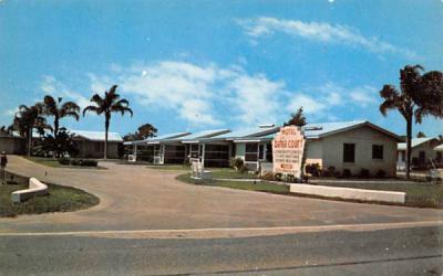 Bahia Court Bradenton, Florida Postcard