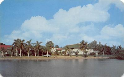 Bradenton Woman's Club Florida Postcard