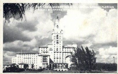 AAF Convalescent Hospital - Coral Gables, Florida FL Postcard