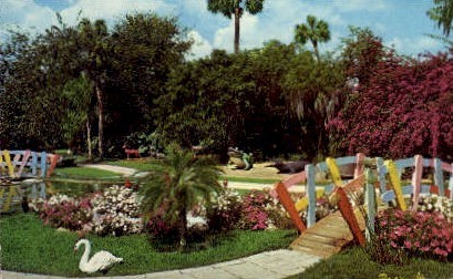 Fantasy Valley - Cypress Gardens, Florida FL Postcard
