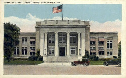 Court House - Clearwater, Florida FL Postcard