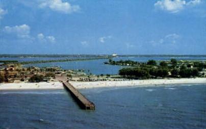Pier - Clearwater, Florida FL Postcard