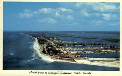 Clearwater Beach - Florida FL Postcard