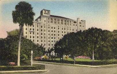 Fort Harrison Hotel - Clearwater, Florida FL Postcard