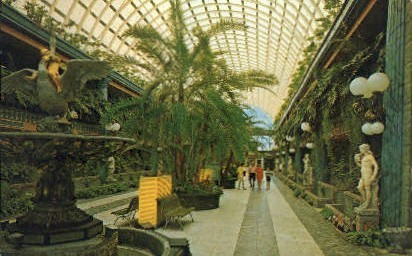 Entrance Mall - Clearwater, Florida FL Postcard