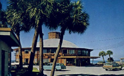 Sea Shell Hotel - Clearwater, Florida FL Postcard