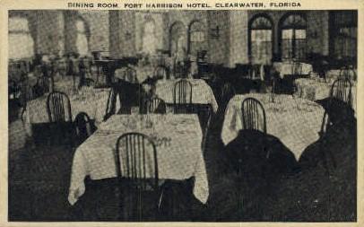 Fort Harrison Hotel - Clearwater, Florida FL Postcard
