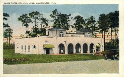 Country Club - Clearwater, Florida FL Postcard
