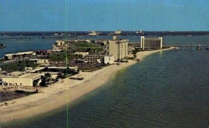 Gulf of Mexico - Clearwater, Florida FL Postcard