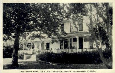 Westbrook Arms - Clearwater, Florida FL Postcard