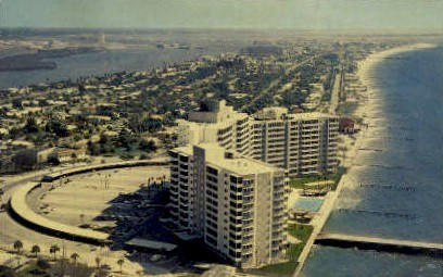 Mandalay Shores Apartments - Clearwater, Florida FL Postcard
