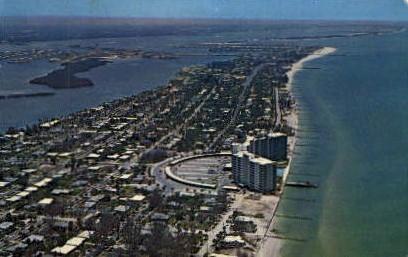 Mandalay Shores Apartments - Clearwater, Florida FL Postcard