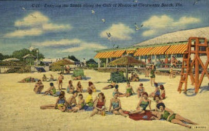 The Sands - Clearwater, Florida FL Postcard
