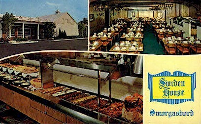 Sweden House Smorgasbord - Clearwater, Florida FL Postcard