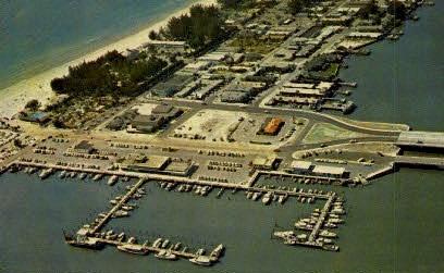 Yacht Basin - Clearwater Beach, Florida FL Postcard
