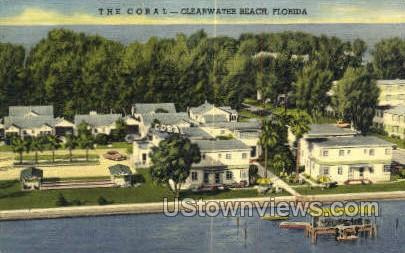 The Coral - Clearwater, Florida FL Postcard