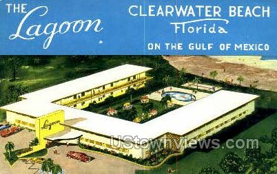 The Lagoon - Clearwater, Florida FL Postcard