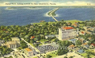 Bay - Clearwater, Florida FL Postcard