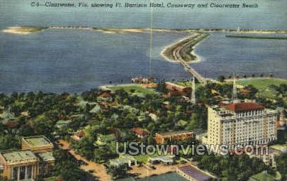 Ft Harrison Hotel - Clearwater, Florida FL Postcard