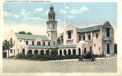 Church - Clearwater, Florida FL Postcard