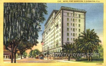 Hotel Fort Harrison - Clearwater, Florida FL Postcard