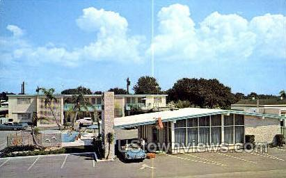 Edgewater Drive Motel - Clearwater, Florida FL Postcard