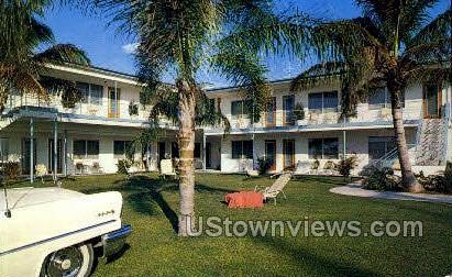 Sunny Motel - Clearwater, Florida FL Postcard