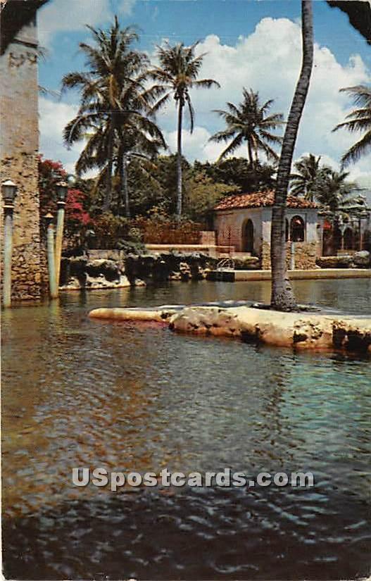 Coral Gables, Florida FL Postcard