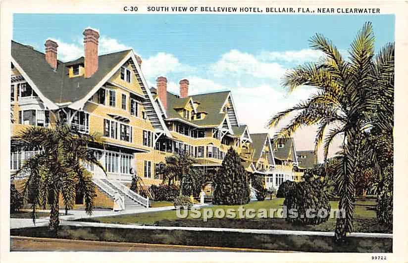 Belleview Hotel - Clearwater, Florida FL Postcard