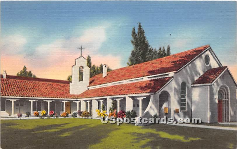 Chapel by the Sea - Clearwater, Florida FL Postcard