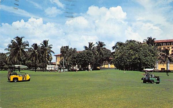 Biltmore Golf Course Coral Gables, Florida Postcard