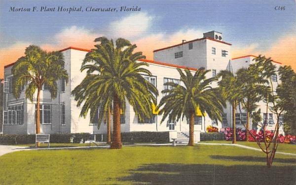 Morton F. Plant Hospital Clearwater, Florida Postcard