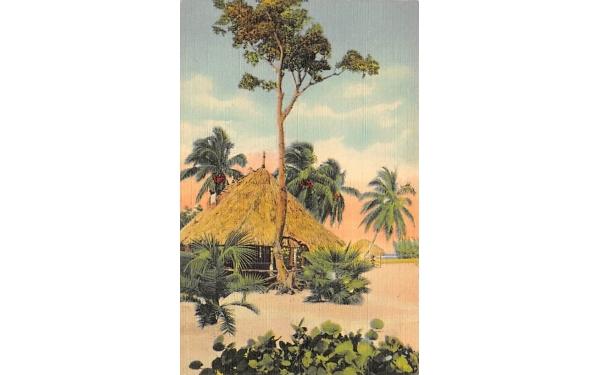 Tahiti Beach Coral Gables, Florida Postcard