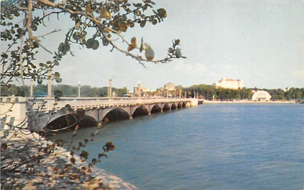 Beautiful Clearwater, FL, USA Florida Postcard
