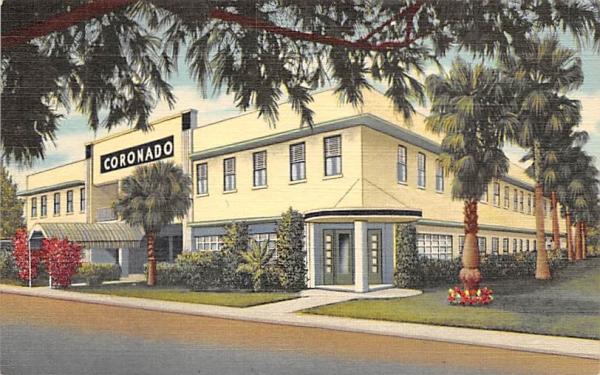 Coronado Hotel Clearwater Beach, Florida Postcard