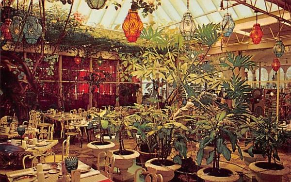 Patio Room at The Kapok Tree Inn Clearwater, Florida Postcard
